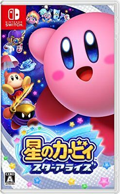 NEW Nintendo Switch Hoshi no Kirby Star Allies JAPAN import Japanese game
