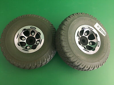 Invacare Pronto Sure Step M51 Wheels & tires  3.00-4 Solid Foam Filled   #B550