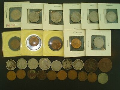 Lot of (30) Old Mixed U.S. Coins **NO RESERVE**