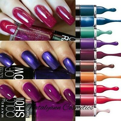 Maybelline New York Color Show/ Color Drama  Nail Polish CHOSE SHADE - FREE POST