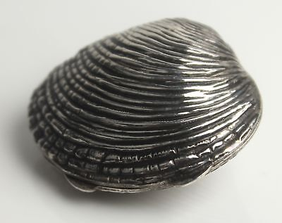 Vintage Tiffany & Co. Italian 925 Sterling Silver Clam Shell