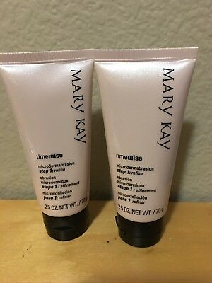Lot Of 2 Mary Kay Microdermabrasion Step 1