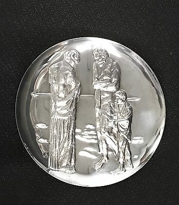 "Picasso The ""Tragedy""  post 1940 - over 9oz of .999 Silver - Franklin Mint"