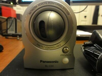 Panasonic BL-C30 Network camera Wired/Wireless WITH POWER ADAPTER