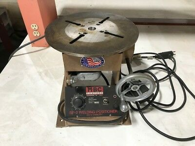 Mbc Bp-2 Welding Positioner 200 Lb Capacity/110 Volt / 60 Cycle