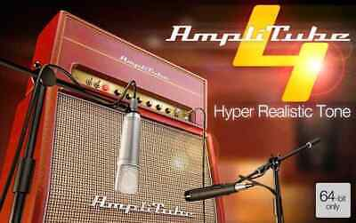 IK MULTIMEDIA AmpliTube 4 Hyper realistic guitar amp / FX software