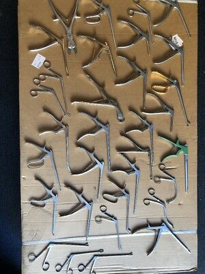 V. Mueller And Others Brands  Surgical Rotatable Biopsy Punch Forceps Lot Of 33