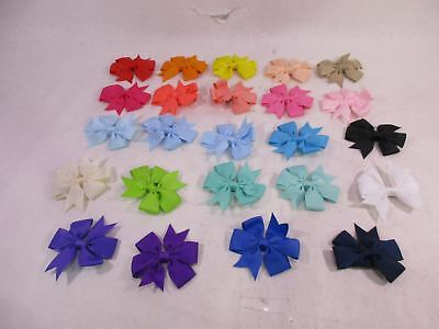 CN 3 Inch Boutique Baby Girls Hair Bows With Alligator Clips For Infa *See Desc*