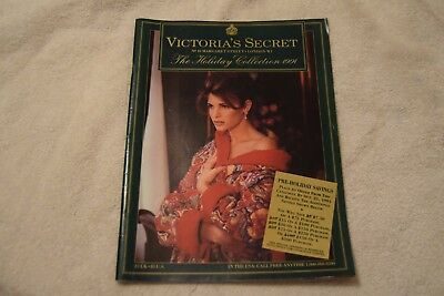Victoria's Secret Catalog. Holiday 1991 with Stephanie Seymour on cover.