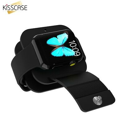 Silicon Charging Dock Station Charger Holder Stand for Apple Watch iPhone iPads