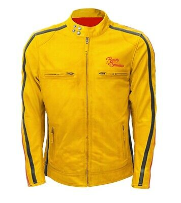 Rusty Stitches Billy Jacket Yellow Black Red, Motorcycle Jacket, NEW!
