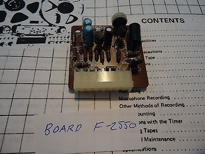 Sansui 9090 Stereo Receiver Parting Out Board F-2550