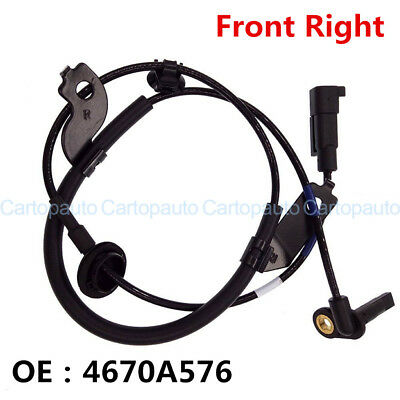 4670A576 Front Right ABS Wheel Speed Sensor for Mitsubishi Outlander Lancer ASX