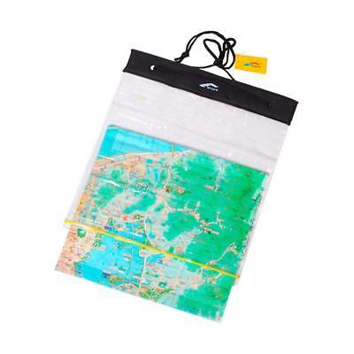 PVC Transparent WaterProof Map Document Storage Case Holder Pouch Camping HOT~;