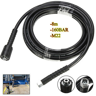 8M 2320PSI High Pressure Hose Washer Tube Quick Connect For Pressure Washer