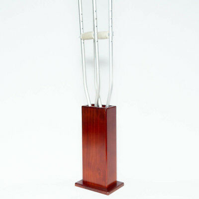 Crutch Stand - Wooden - Suits Forearm and Underarm Crutches