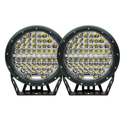 7inch Cree Round Spot LED Driving Lights Spotlights Lamp Offroad 4WD 4x4