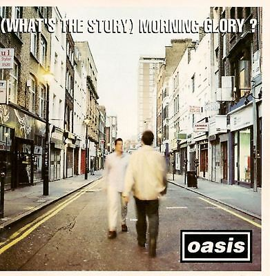 OASIS what's the story morning glory (CD album) brit pop, indie rock