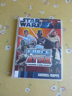 """Star Wars Sammel-Mappe """"Topps - Force Attax"""" - Trading Card Game - Serie 1"""