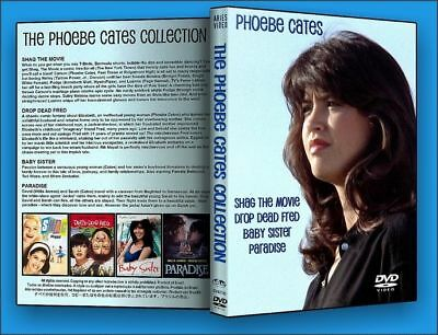 THE PHOEBE CATES COLLECTION 4 DVD Set NEW SEALED