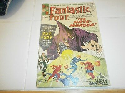 Fantastic Four 21, The Hate Monger, 1st Sgt. Fury crossover