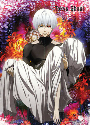TOKYO GHOUL GROUP ON STAIRS FABRIC POSTER 30x42 WALL HANGING 79568