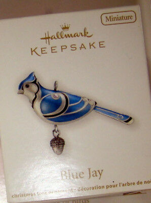 Hallmark Keepsake Blue Jay Miniature Beauty of Birds New