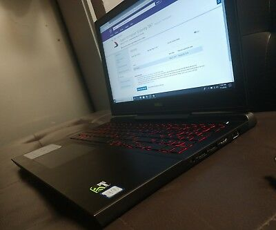 dell inspiron 15 7000 series gaming edition 7567 specs