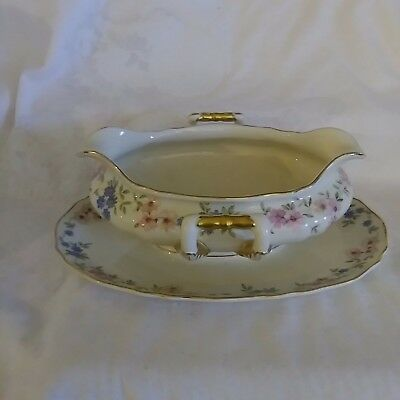 1 Piece Gravy Boat K&A Krautheim Selb Bavaria Germany US Zone