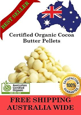 100% Pure Natural Cocoa Butter - DIY Skincare Lotion Lip Balm - FREE POSTAGE