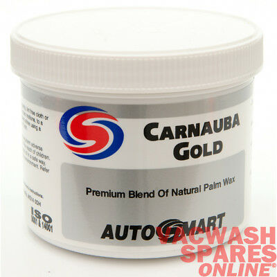 Autosmart Carnauba Gold Car Wax - Polish - Protect - High Gloss Carnauba Finsh
