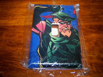 Green Arrow Light Switch Plate #4