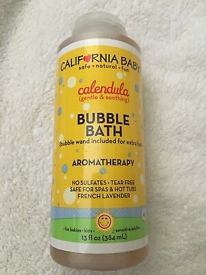 California Baby Calendula Bubble Bath  13 oz Exp 3/20