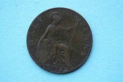 George V Halfpenny 1924 British 20th century coin