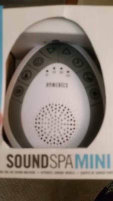 White Noise Sound Machine Portable Sleep Therapy for Home, Office, Baby Travel