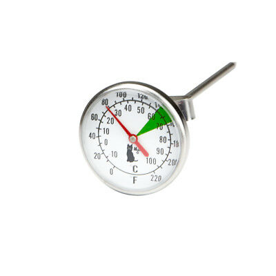 Milk Thermometer by Motta Professional Stainless Steel