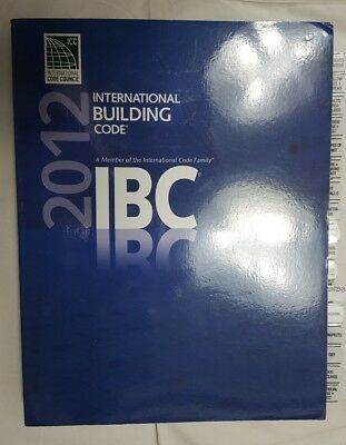 2012 IBC ICC Code Book with Turbo Tabs