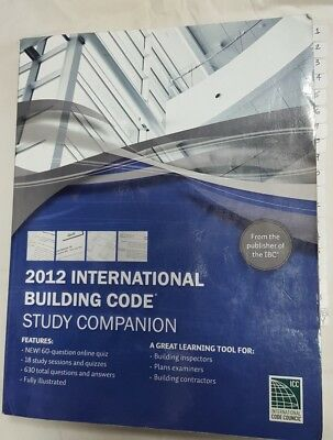2012 International Building Code (IBC) Study Companion-with Chapter tabs.