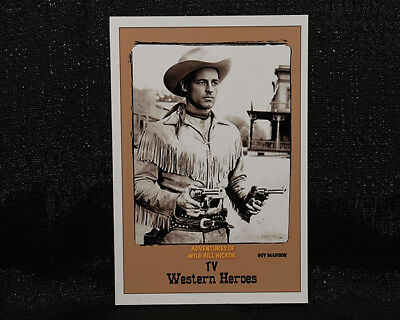 "4""X 6"" Magnet  ""ADVENTURES of WILD BILL HICKOK""- TV show- GUY MADISON"