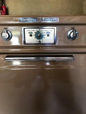 antique, vintage, pink, 1950's GE (general electric), wall oven