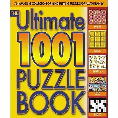 Ultimate 1001 Puzzle Book by Tim Dedopulos (Paperback / softback)