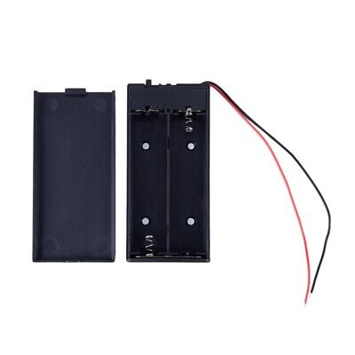 3.7V 2x 18650 Battery Holder Connector Storage Case Box ON/OFF Switch With N1I2