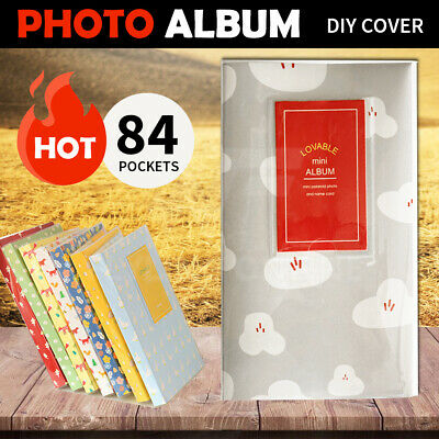 84 Pockets Photo Album For FujiFilm Instax Mini Polaroid Fuji Film Camera 7 8 90