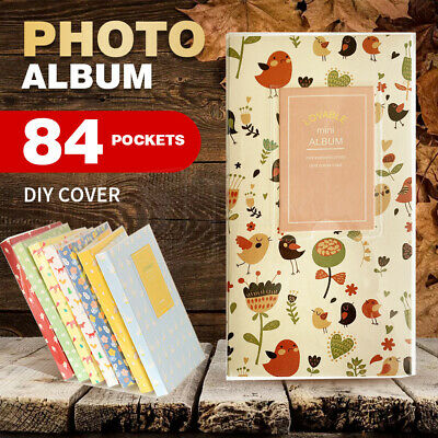 84 Pockets Mini Album Storage Photo Container for FujiFilm Card Instax Polaroid