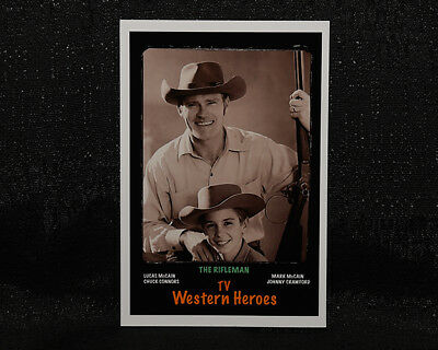 "4""x6"" MAGNET PRINT - ""THE RIFLEMAN""  JOHNNY CRAWFORD, CHUCK CONNORS"