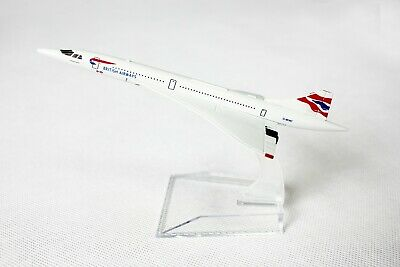 BRITISH CONCORDE ONE WORLD DIECAST AIRCRAFT PLANE MODEL 15cm 1:400