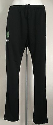 Celtic Black Knitted Training Pants  By New Balance Size Adults Xxl Brand New