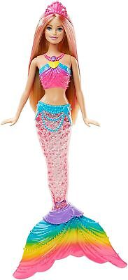 Barbie Dreamtopia Rainbow Cove Light Up Mermaid Doll ***hot Seller***