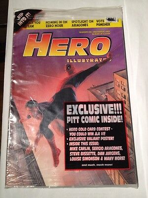 Hero Illustrated # 6 Spiderman Cover