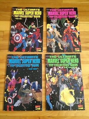 The Ultimate Marvel Super Hero Toy Collectors' Guide 1991-1994 , Year 1-4